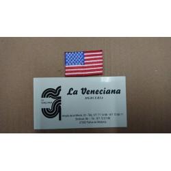 APLICACION BANDERA USA TERMOADHESIVA APROX 4*2.5 CM
